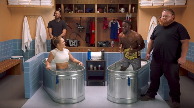 Ronda Rousey Makes Kevin Hart Cry On The Latest 'Cold As Balls'