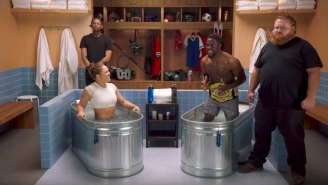Ronda Rousey Makes Kevin Hart Whimper Like A Baby On The Latest Episode Of 'Cold As Balls'