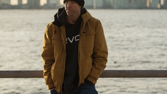 This RVCA Hooded Bomber Jacket Is 34% Off And Will Be Your Go-To Jacket In Awful Weather