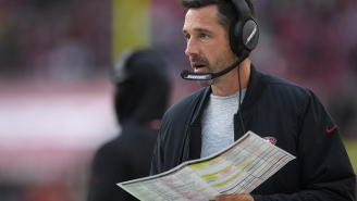 NFL Network's Reaction To Senior Bowl Coach Kyle Shanahan Dropping A Bunch Of F-Bombs While Mic'd Up Is Hilarious