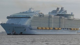 Drunk Man Jumps Off World's Largest Cruise Ship, Posts Video Online, Gets Banned For Life From Royal Caribbean