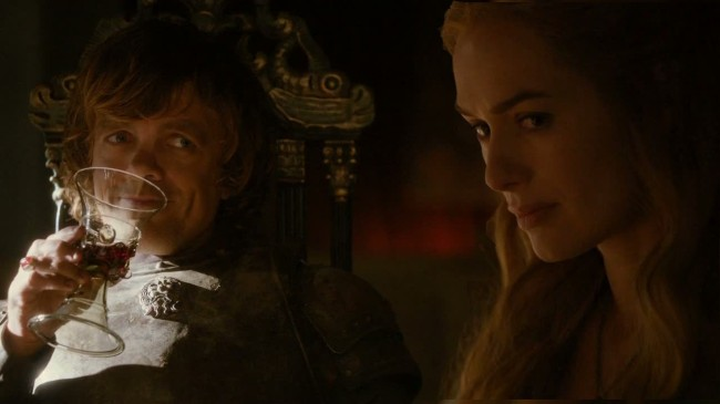 Tyrion and Cersei Lannister Game of Thrones Theory