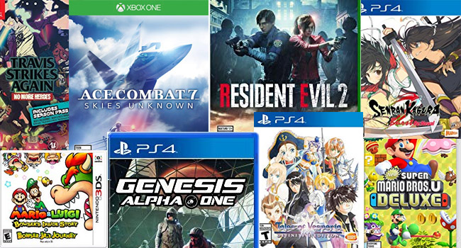 upcoming video game new releases january 2019