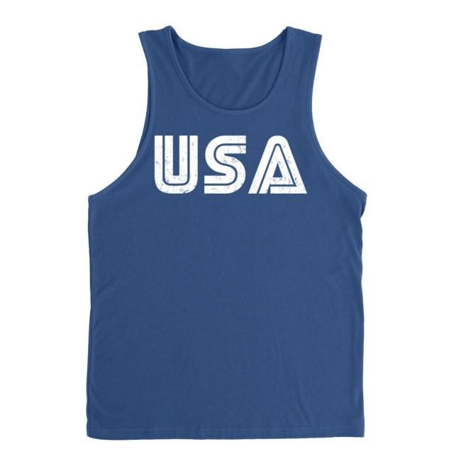 USA Tank tops
