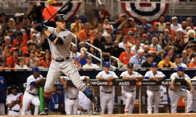 Yankees Star Aaron Judge Showed Off His Rigorous Workout Regimen