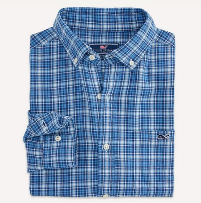 """Allamanda"" Check Tucker Shirt"
