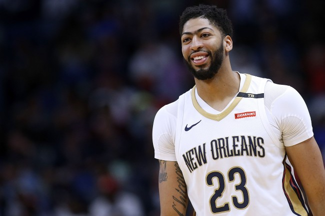 anthony davis lakers pelicans troll