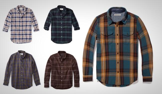best flannel shirts for men 2019