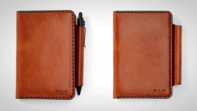 Bexar Goods Field Notes Wallet Leather