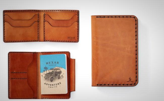 Bexar Goods Leather Wallets Handmade in Texas