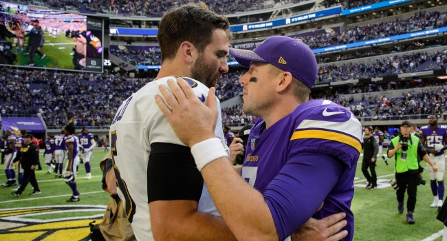 Case Keenum Says He Was Shocked By Broncos Trading For Joe Flacco