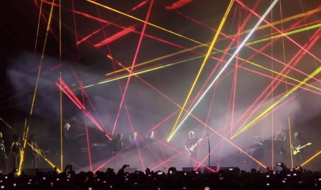 David Gilmour Comfortably Numb Pompeii Pink Floyd