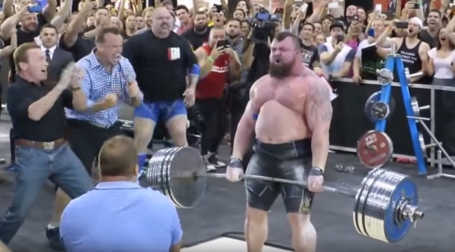 Eddie Hall Transformation Strongest Man