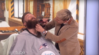 Julian Edelman Shaves Off His Reckless Beard For Charity And Looks Like A Child Again