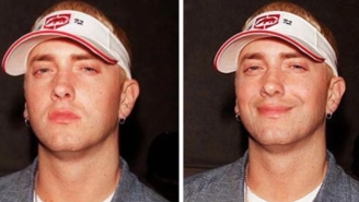 Guy Notices Eminem Never Smiles, Now The Rapper Has Never Looked Happier After Amusing Photoshops Go Viral