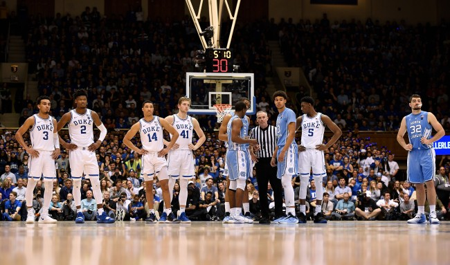 Espn Showed A Penis In The UNC Locker Room The Internet Noticed