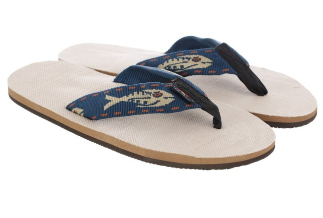 'Fish Strap' Hemp Sandals