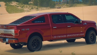 Have You Ever Wanted To Make Your Truck Look Like A Mustang? Now You Can With This Ford F-150 Fastback Bed Cap