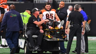 Bengals TE Tyler Eifert Reveals Progress On Surgically-Repaired Ankle After Gruesome Injury