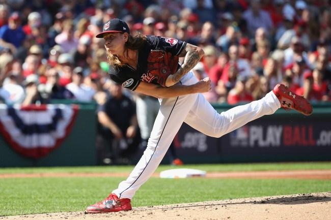 Mike Clevinger Cleveland Indians