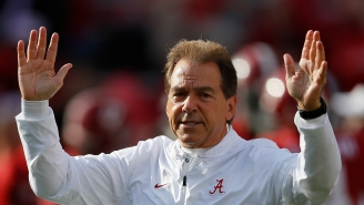 Former Alabama Player Shared A Story About Nick Saban Cracking 'Deez Nuts' Jokes In Practice
