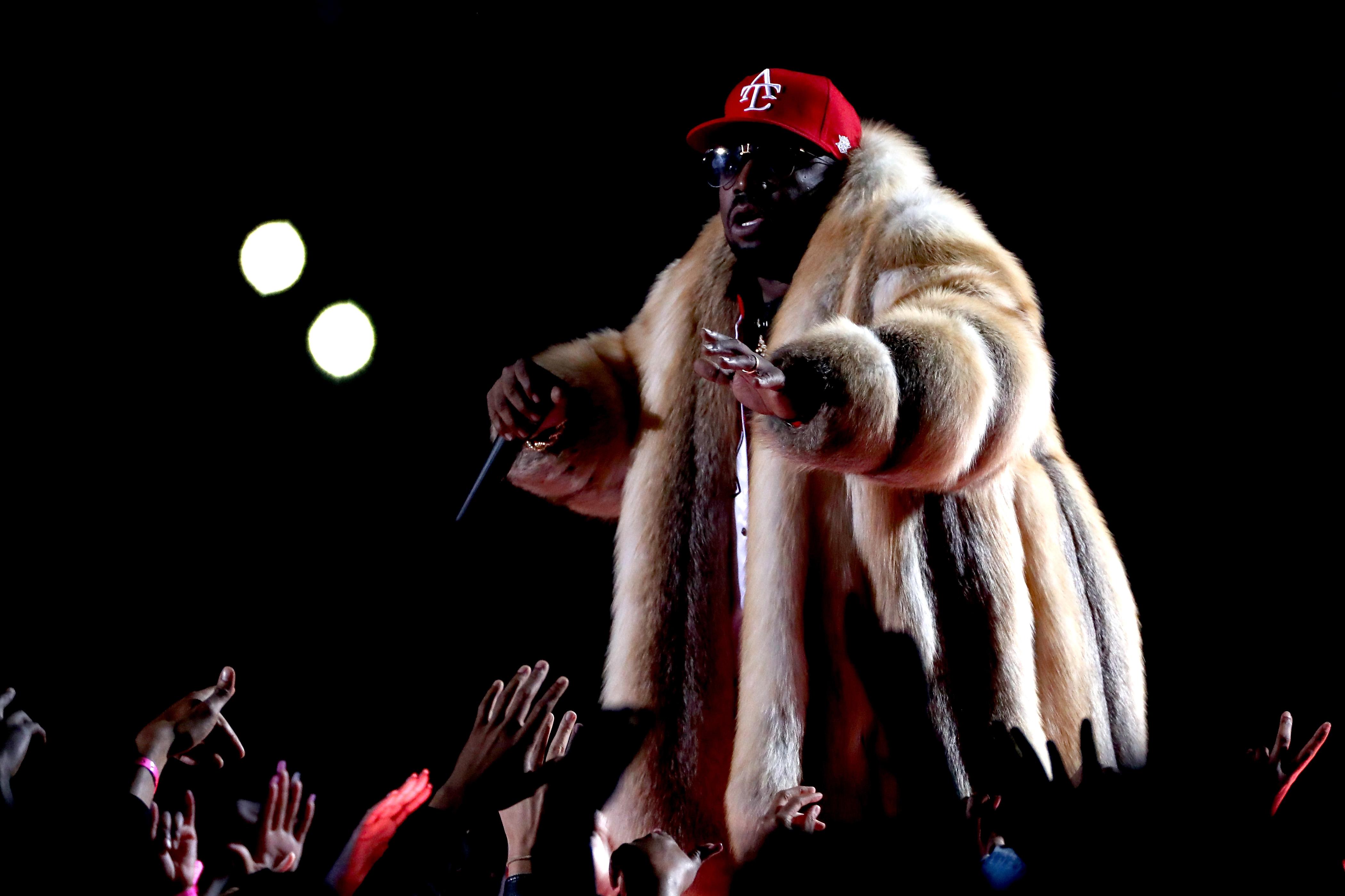 PETA Blasts Big Boi For Rocking A Giant Fur Coat During Super Bowl Halftime Performance