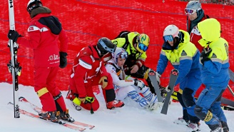 Lindsey Vonn Suffers Gnarly Crash During The Final Super-G Race Before Retirement
