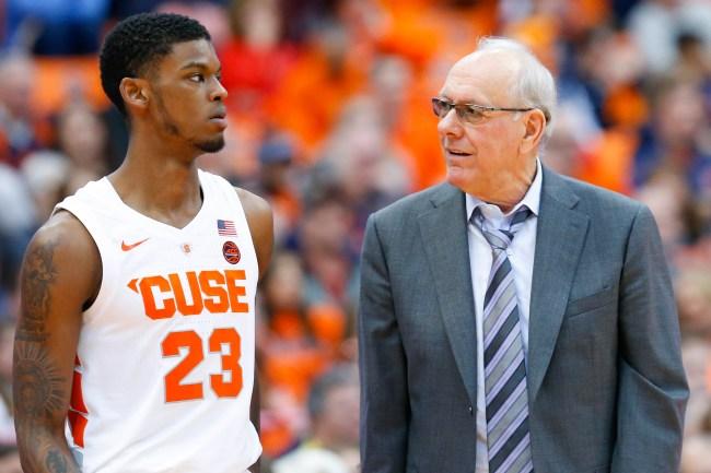 Jim Boeheim Syracuse Head Coach