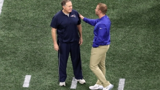 Sean McVay Goes Full Fanboy For Bill Belichick In New Super Bowl Mic'd Up Footage