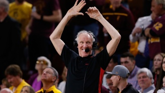 Bill Walton Transitions From Talking About His Suicidal Past To Joyously Rubbing Chocolate On His Face In A+ Video