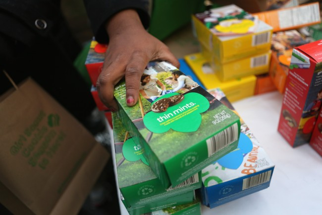 Girl Scouts Cookies Thin Mints