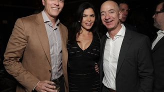 Jeff Bezos Investigation Into Torrid Text Leaks From Mistress Finger Lauren Sanchez's Trump-Supporting Brother