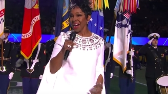 One Of The Most Popular Super Bowl Prop Bets Became Shrouded In Controversy Thanks To Gladys Knight