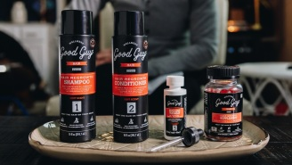 Good Guy Wellness Review: Ditch The Hats And Combovers, Bros, Because A New Hair Treatment Is Here To Get Your Dome Back