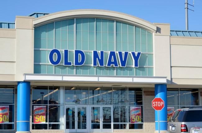 Old Navy Gap Break Up