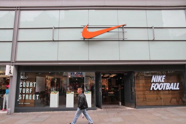 Nike store in UK