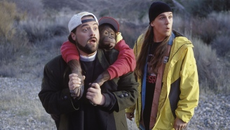Kevin Smith Shares First Behind-The-Scenes Photo From 'Jay And Silent Bob Reboot!' Snootchie Bootchies!