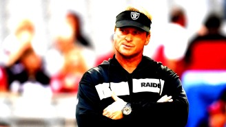 Jon Gruden Gets Testy When Asked About Khalil Mack Decision, Discusses Interest In Antonio Brown
