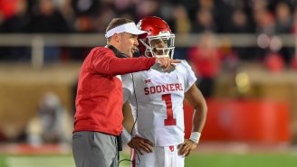 Kyler Murray's College Coach, Lincoln Riley, Made A Weird Comparison To An All-Time Great Running Back