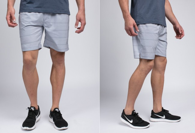 Kyras Sharkskin Athletic Shorts