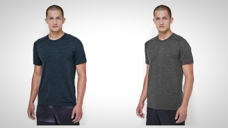 Get Fit With These High-Performance Metal Vent Tech Shirts From Lululemon For Men