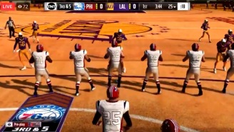 This 'Madden-NBA 2K' Mod That Combines The Games, Lets You Play Football On An NBA Court Is Amazing