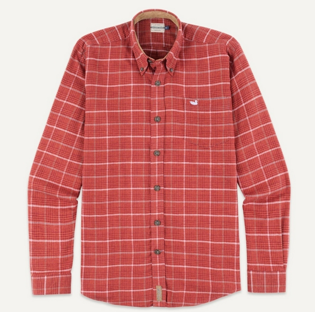 Madison Houndstooth Flannel Shirt