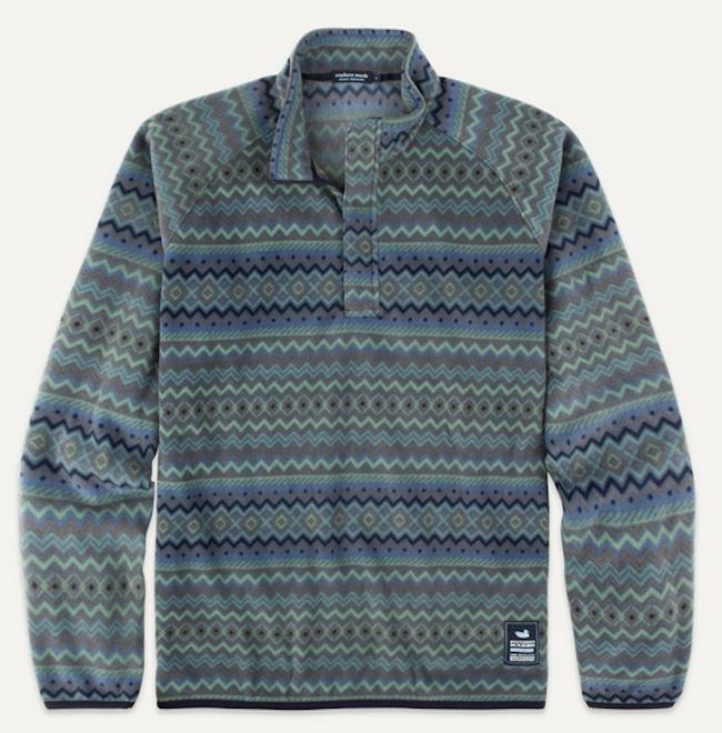 Marrakesh Stripe Pullover Fleece