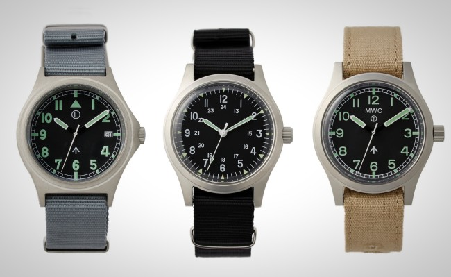 MWC Watches military watch styles