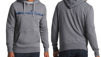North Face Gradient Sunset Pullover Hoodie Is Perfect For Those Brisk Spring Mornings