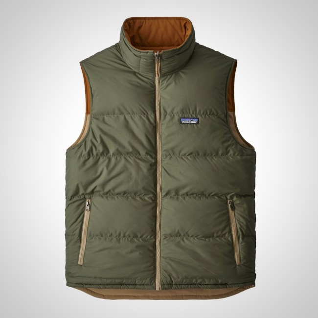 Patagonia Reversible Bivy Down Vest Men's