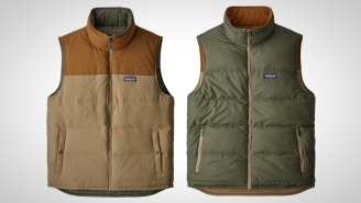 This Patagonia Reversible Bivy Down Vest Is 30% OFF And A Perfect Addition To Your Outfits