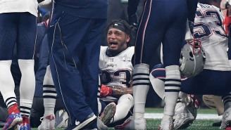 Patrick Chung Shared A Gnarly Photo To Instagram Following Surgery On His Broken Arm