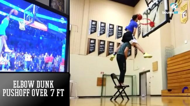Pro dunker Jordan Kilganon recreates every NBA slam dunk contest attempt